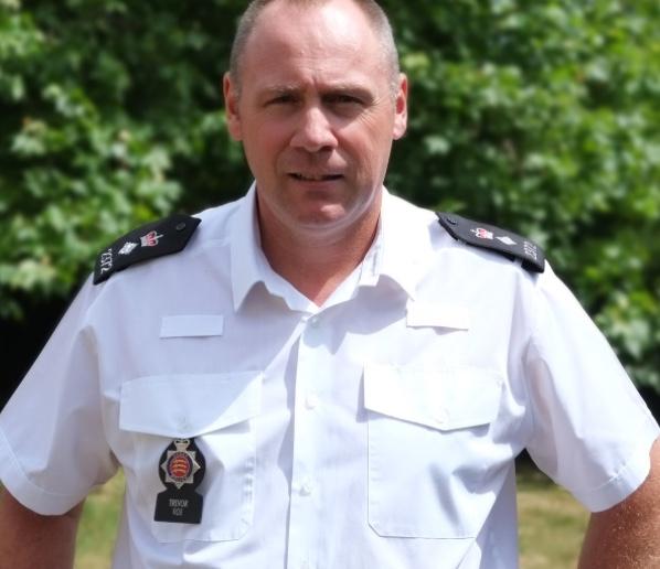 Much respected Police Boss Trevor Roe retires