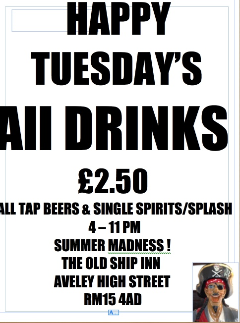 Happy Tuesday at the Old Ship