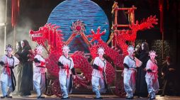 Free outdoor screening at High House Production Park in Purfleet of Royal Opera's Turandot