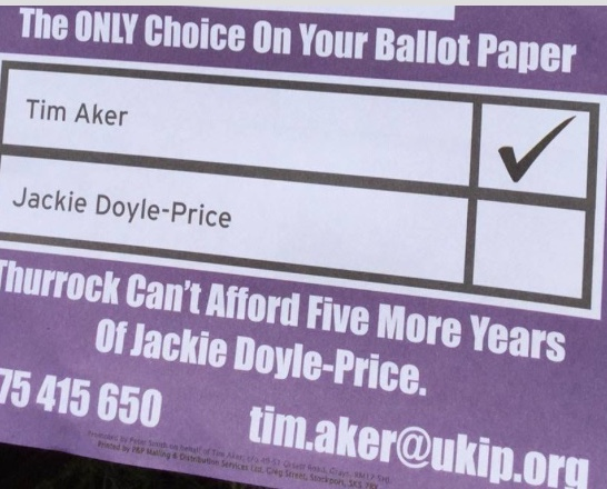 "Letter to Editor: ""Is Thurrock UKIP election leaflet misleading voters?"""