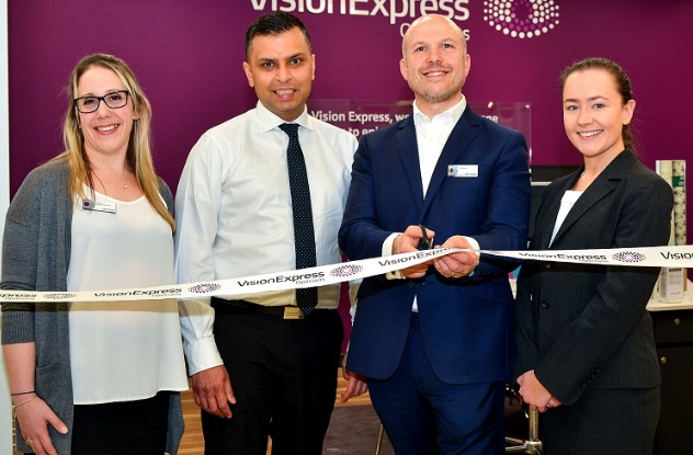 Vision Express opens branch at Tesco's in Thurrock