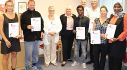 Volunteers who support Thurrock Council services recognised by the Mayor