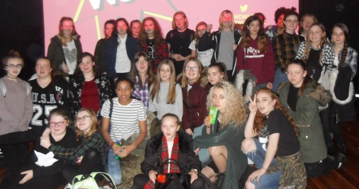 Schools report: Gable Hall attend Women of the World Festival in London