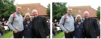 St Thomas' parishoners visit shrine at Walsingham