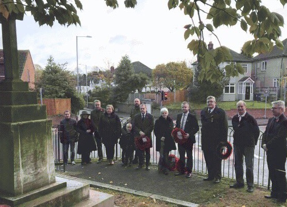 Thurrock UKIP disgusted at state of war memorials