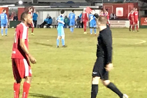 Say Watt? Non-league footballer sent off after name confusion