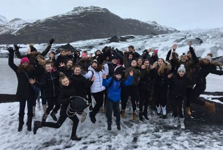 William Edwards students enjoy trip to Iceland