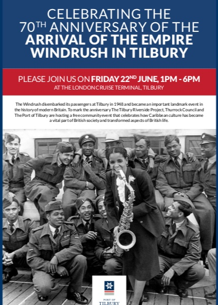Windrush exhibition coming to Tilbury