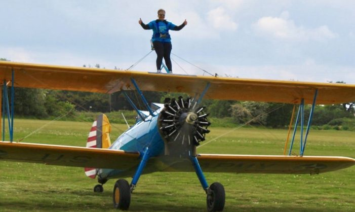 Thurrock residents encouraged to wing walk for Parkinson's