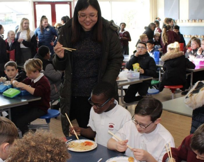 Chinese New Year at Woodside Academy