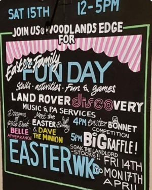 Family fun-day at the Woodlands Edge in South Ockendon