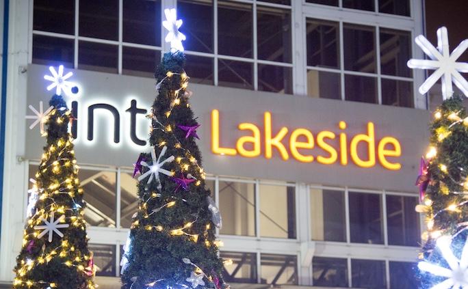 intu Lakeside begin its Christmas celebrations