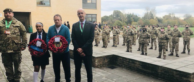 Ormiston Park Academy honours past pupil in Remembrance Day ceremony