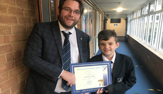 Jack Petchey Awards at Hassenbrook Academy