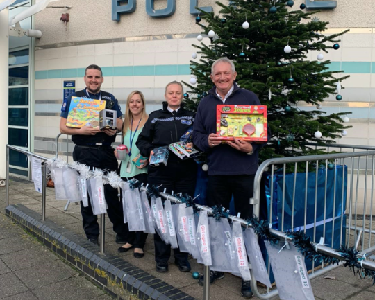 Help Essex Police to brighten a vulnerable child's Christmas