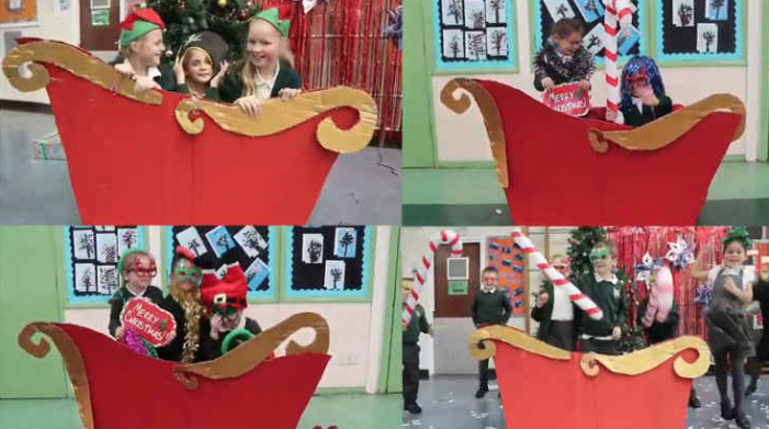 Arthur Bugler Primary Christmas video is full of Christmas cheer!