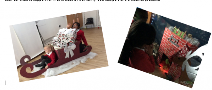 Purfleet Primary pupils treated to a winter wonderland