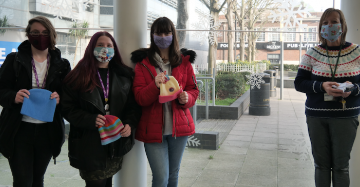 Aviation students raise money for local homeless charity