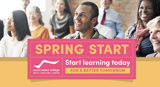 South Essex College: Spring start adult courses