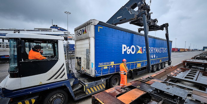 P&O Ferrymasters and DP World begin rolling out services