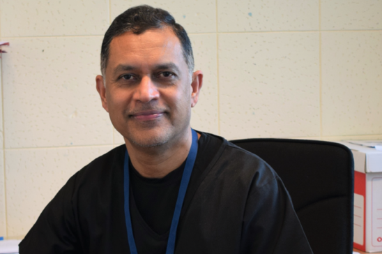Medical director at Basildon Hospital receives MBE in New Year's Honours