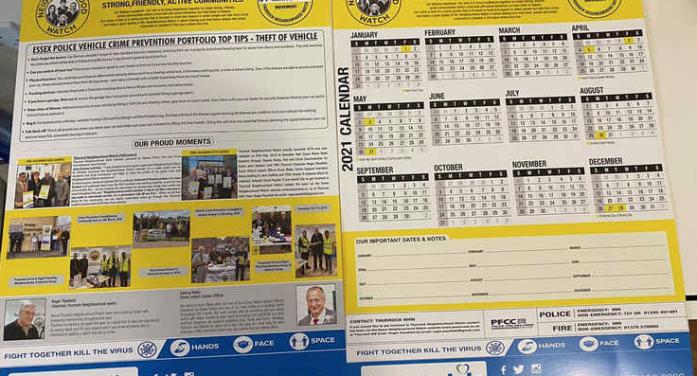 Make a date with Thurrock Neighbourhood Watch and help keep local communities safer