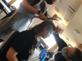 Media make up students shine on set of upcoming feature film