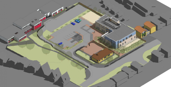 Building begins on the brand new integrated medical centre in Corringham