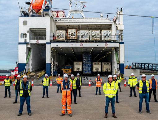 Port of Tilbury reaches final of Logistics Awards for new terminal Tilbury2