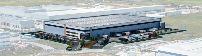 Major new warehouse at London Gateway's Logistics Park