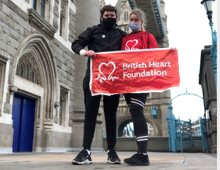 South Essex College student tackles 11 hour walk for British Heart Foundation