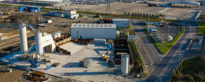 Tarmac and Forth Ports sign long-term agreement to create the UK's largest construction materials terminal at Tilbury2