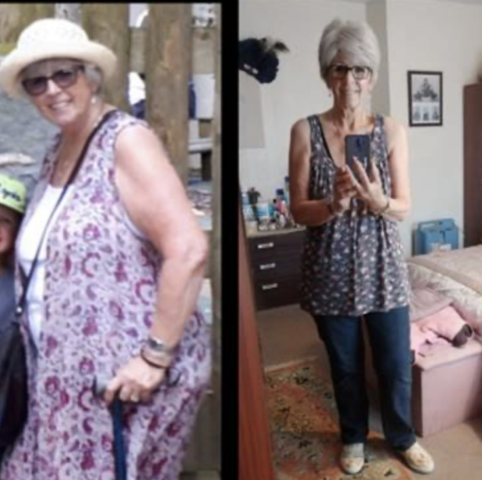 Grays: Five stone weight loss improves lifestyle for 71-year-old Teg during Covid-19 pandemic