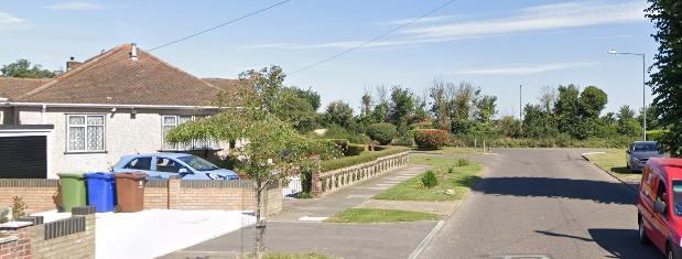 Man suffers burns after blaze in outbuildings in Grays