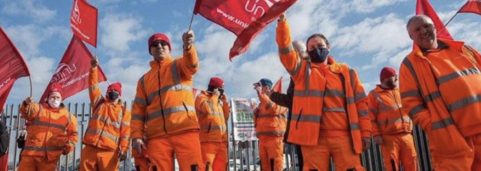 Essential workers fighting to defend their pay from Thurrock Council bosses will continue strike action