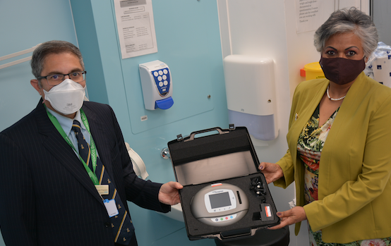 New equipment to help mums with tears after giving birth