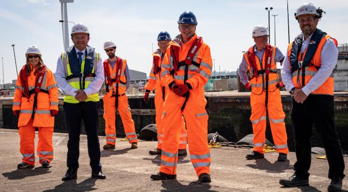Port of Tilbury flood defence gates project
