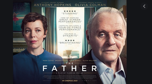 Big Screen drama The Father coming to Vue Thurrock