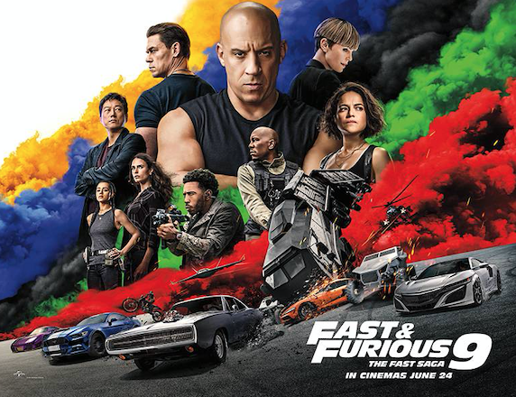 Fast and Furious 9: The Fast Saga arrives at Vue Thurrock – and tickets are on sale now