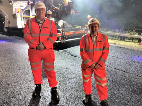 Work to improve The Manorway in Stanford-le-Hope completed