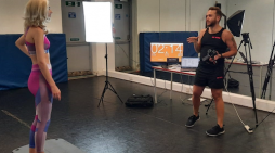 Fitness brand features two South Essex College students workouts