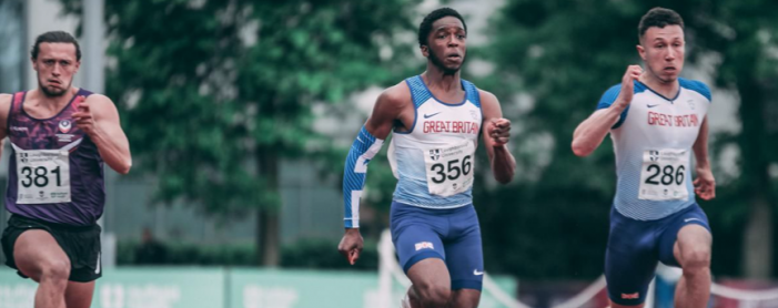 Athletics: Stanford sprinter makes impressive debut for GB
