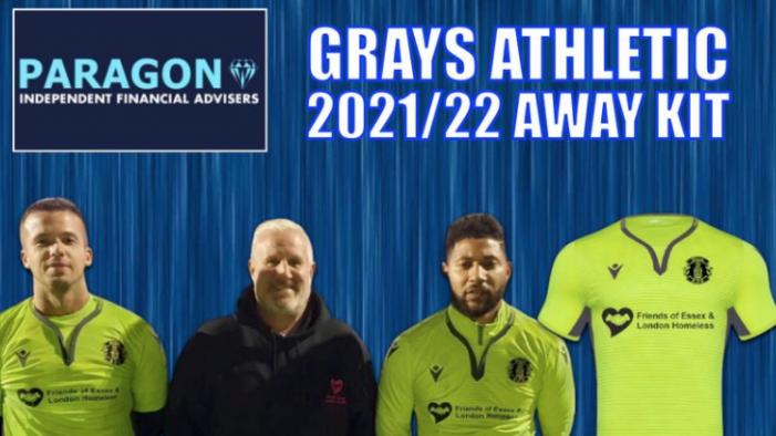 Grays Athletic announce new away kit sponsor