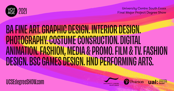 University Centre South Essex students have created a virtual exhibition to showcase their degree work.