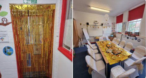 Purfleet Primary pupils rewarded for behaviour with Golden Tea Party