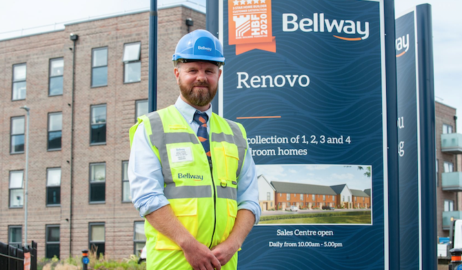 Thurrock Project Manager for Bellway wins  prestigious industry award
