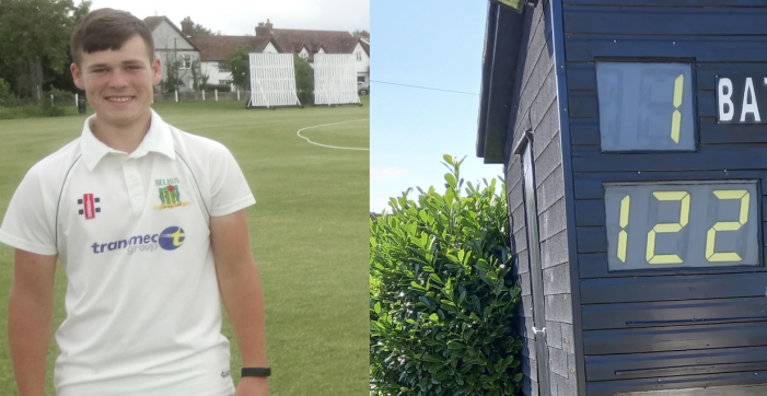 Cricket: Maiden century for Healy secures victory for Belhus