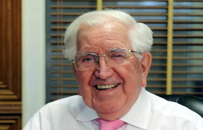Essex philanthropist and businessman Sir Jack Petchey turns 96 this week