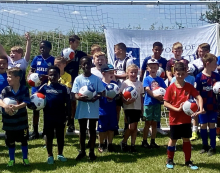 Port of Tilbury teams up with Tilbury Football Club to host event for over 100 young people