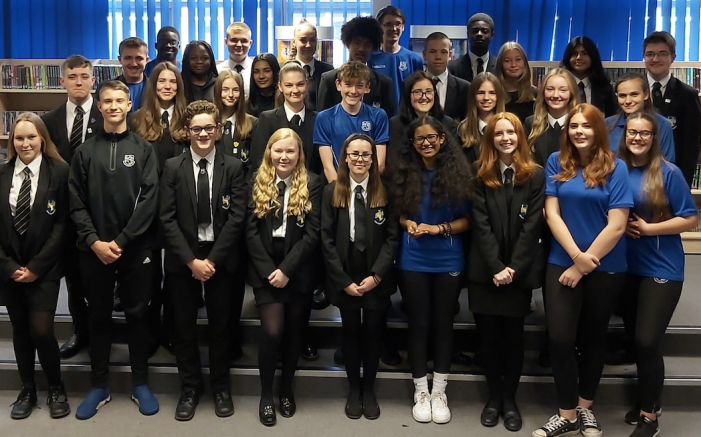 William Edwards appoint new student executive team